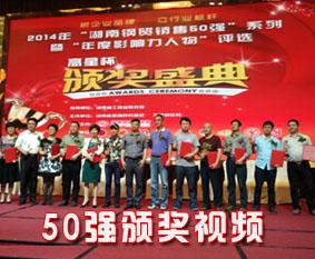 2014年度钢贸销售50强颁奖视频